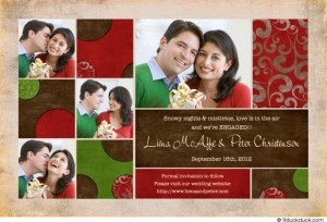 Christmas Card Save the Dates! |