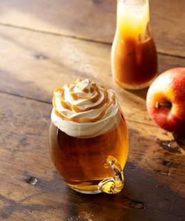 Carmel apple spice drinks