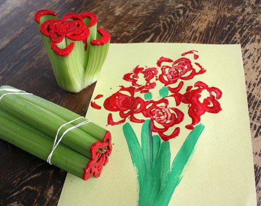 V-day kids craft