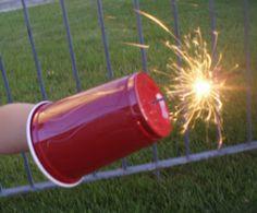 Sparkler safety